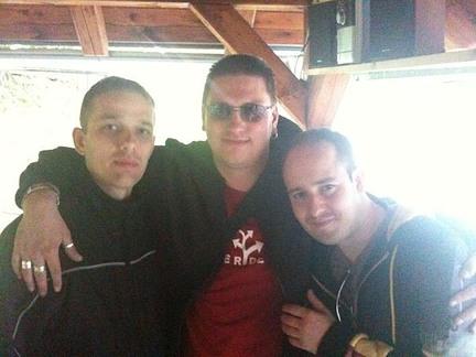 DJs Pete, Chucky, Cole @ Ján Jeleň 2010