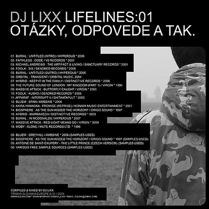 Dj Lixx - Lifelines01 BACK